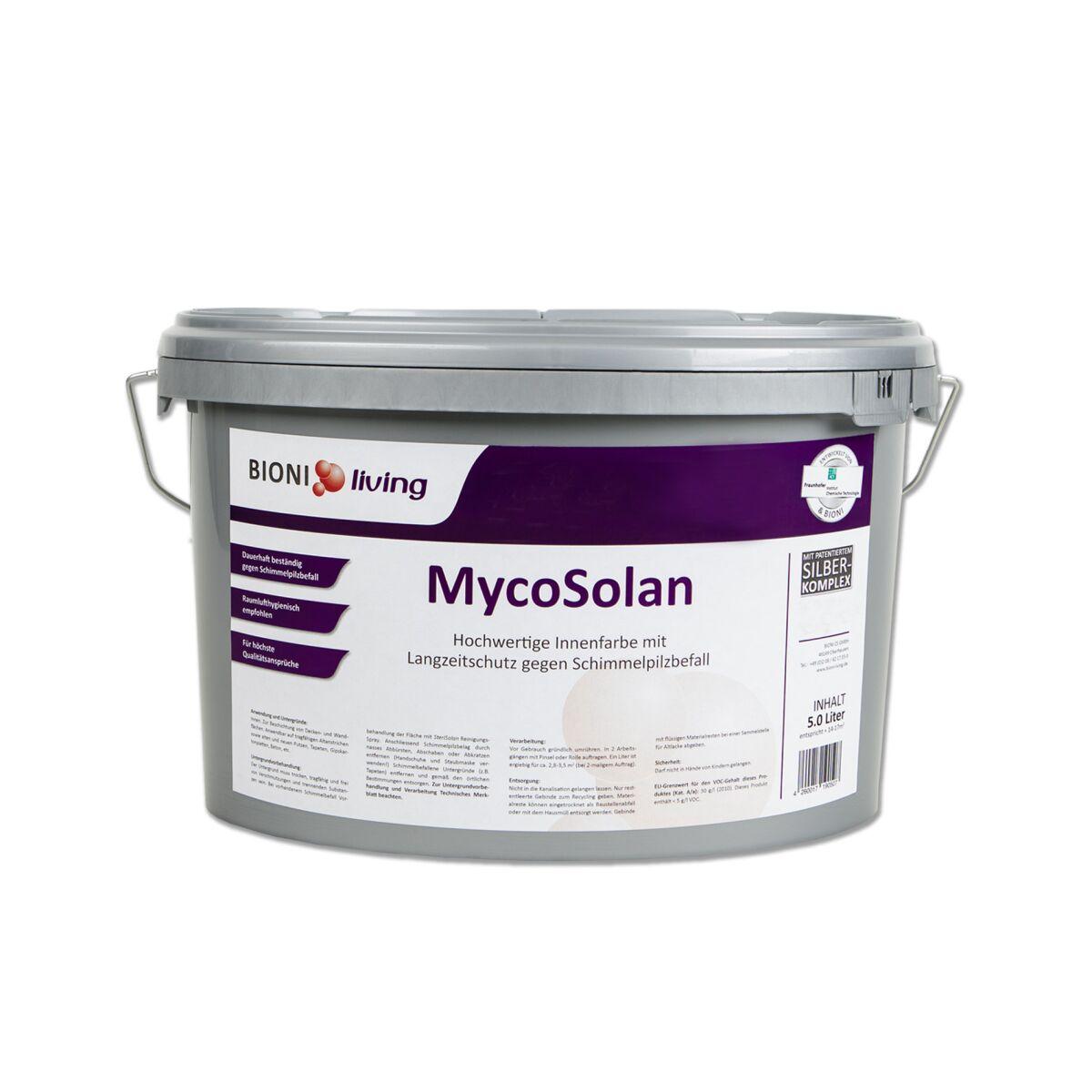mycosolan innenfarbe gegen schimmel t v zertifiziert. Black Bedroom Furniture Sets. Home Design Ideas